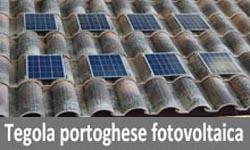 tegola portoghese fotovoltaica
